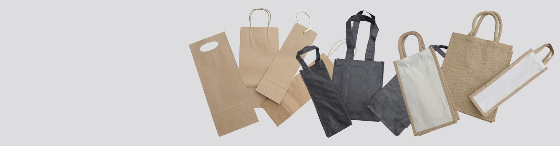 Huge range of wine bags