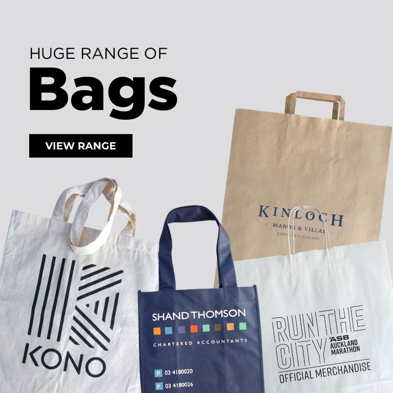 Huge range of bags